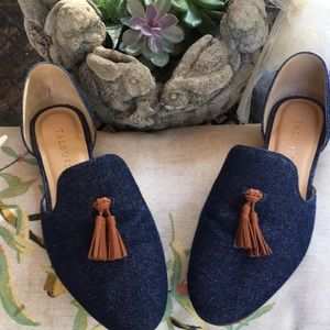 Talbots Denim Flats